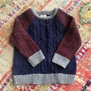 2T Cable Knit Sweater